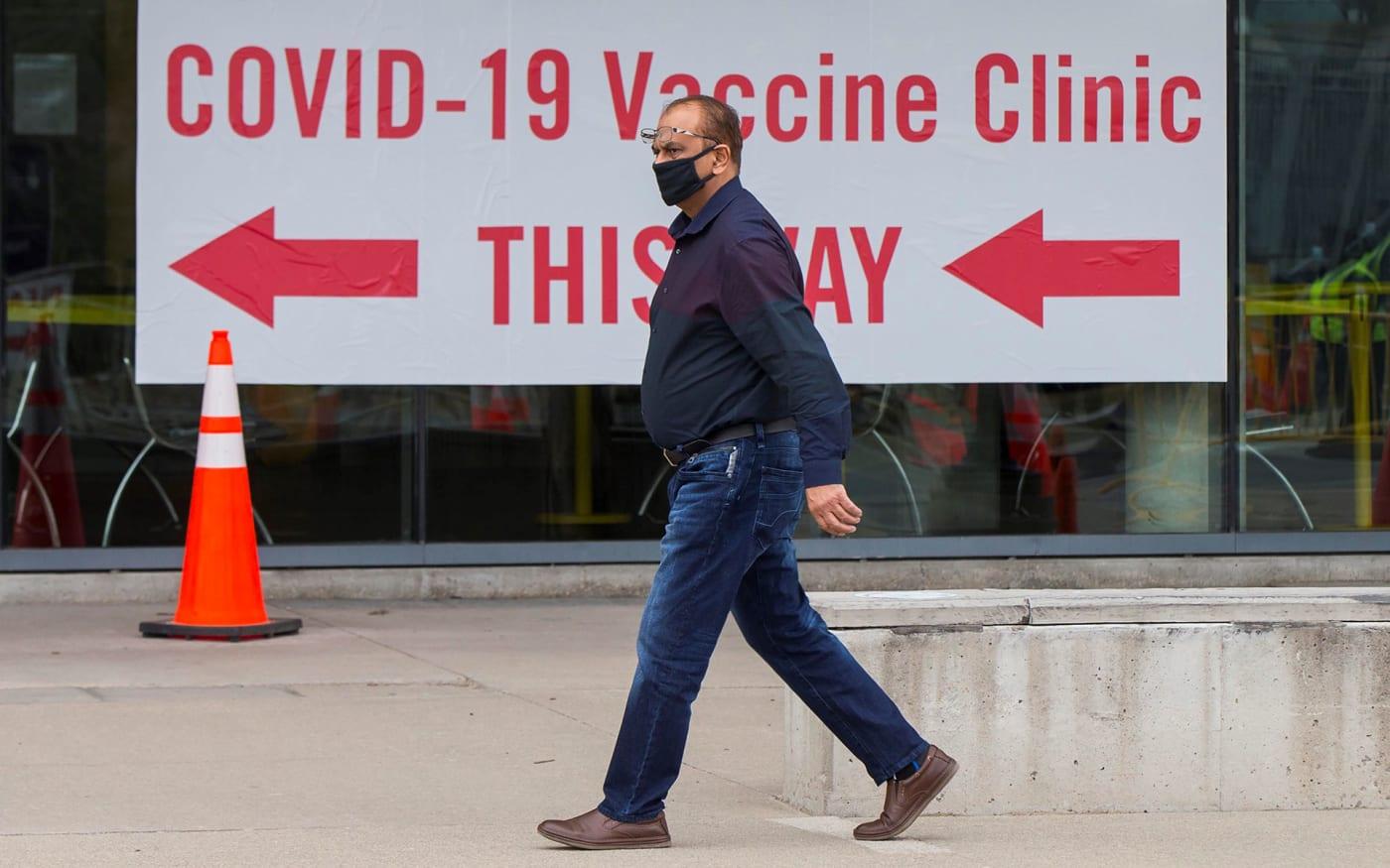 Ontario sitting on 1 million COVID-19 vaccines