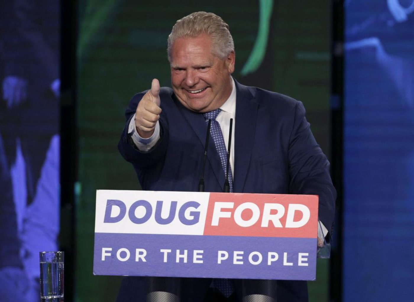 Ontario's Progressive Conservatives Win Majority Government