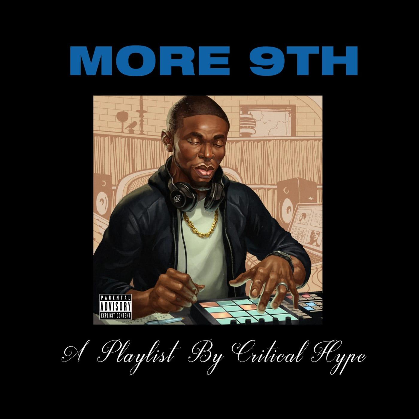 more 9th dj critical hype cover artwork