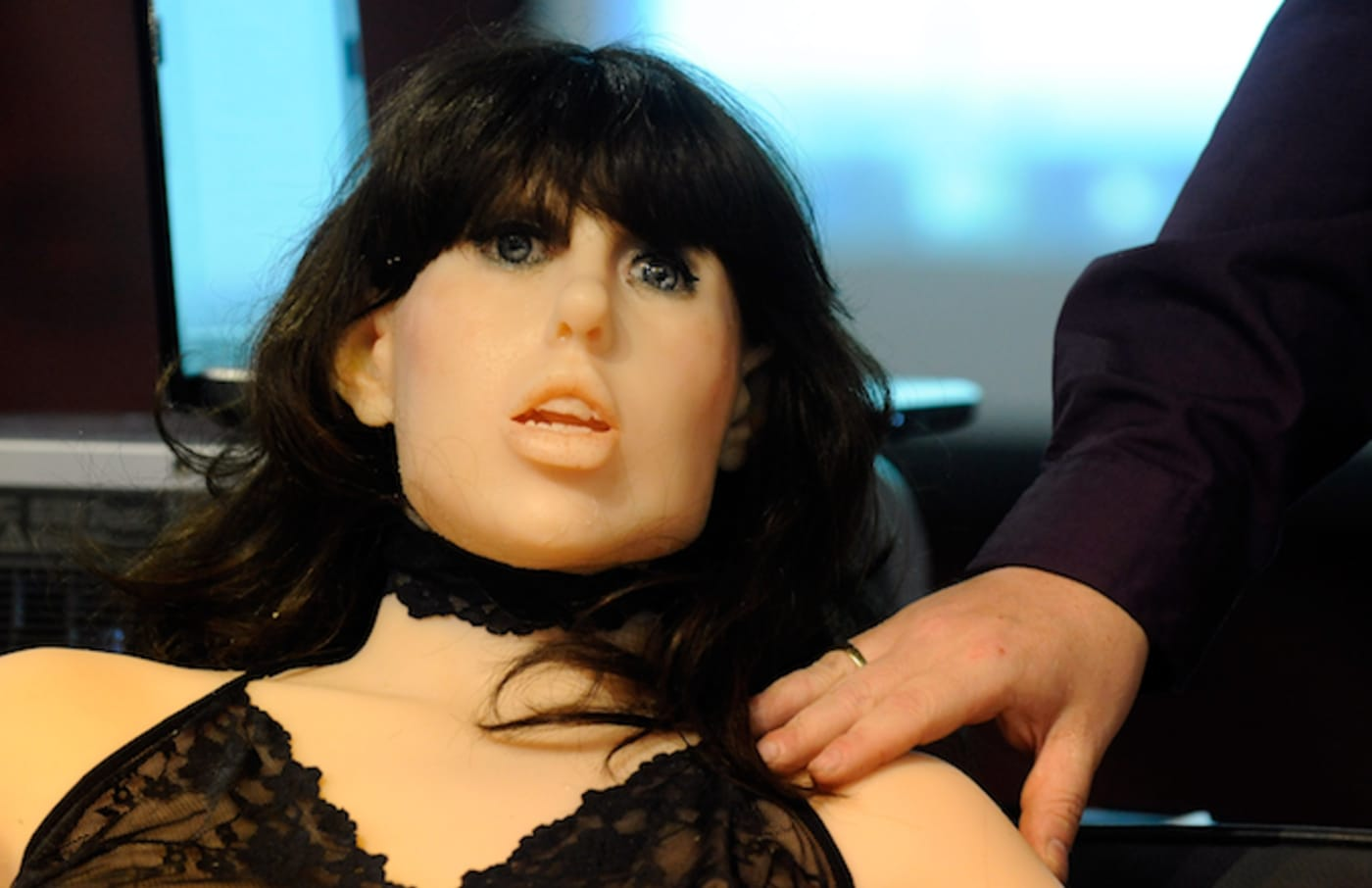 Sex doll that uses artificial intelligence.