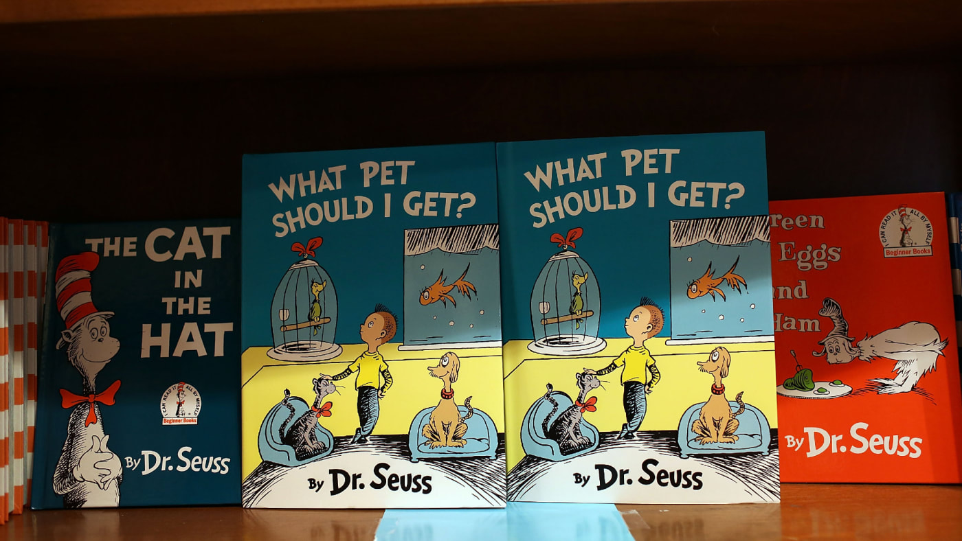This is a photo of Dr. Seuss.