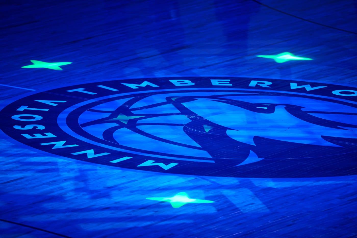 Timberwolves-Logo-Arena-Closeup