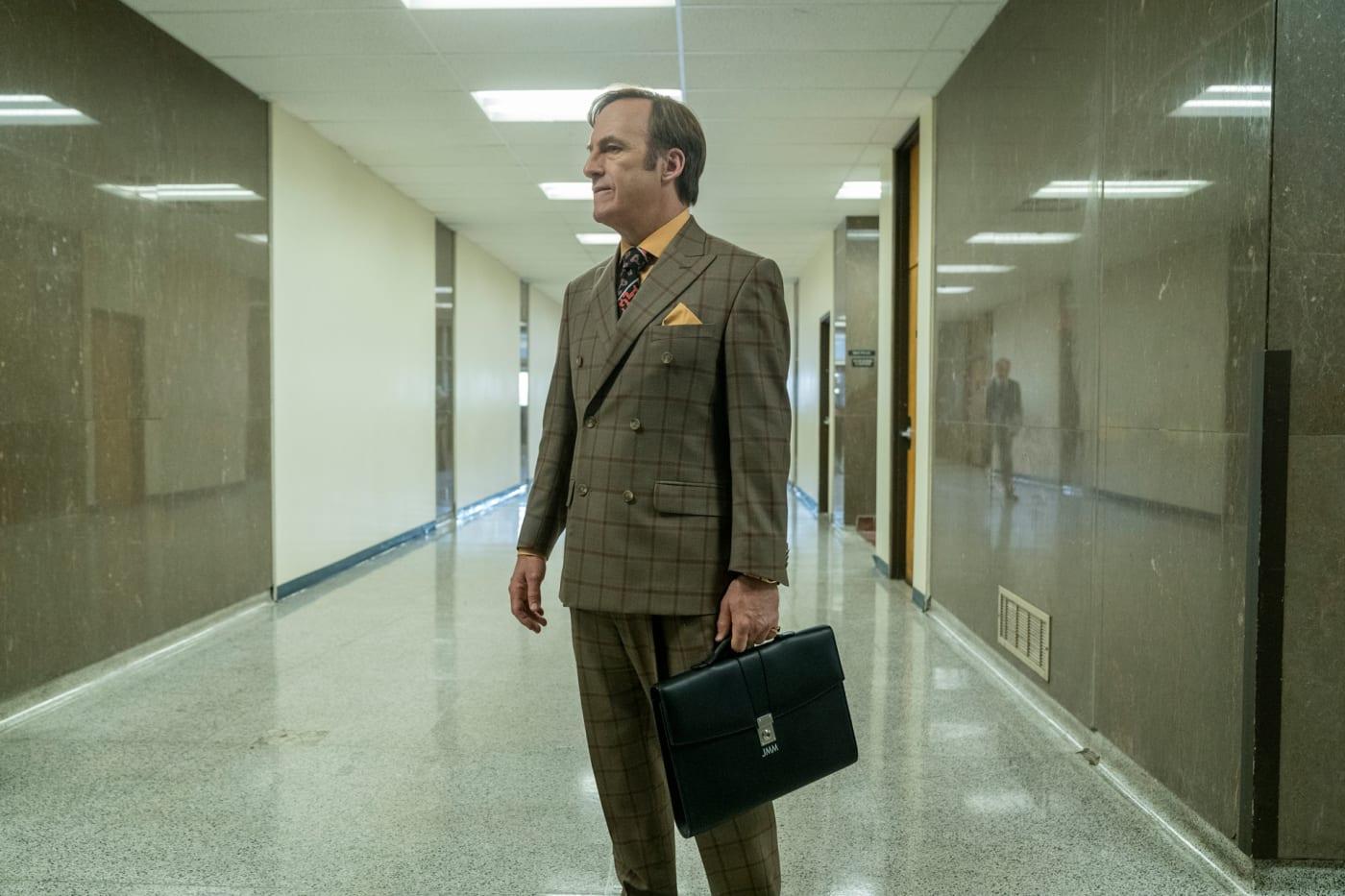 Bob Odenkirk as Jimmy McGill   Better Call Saul