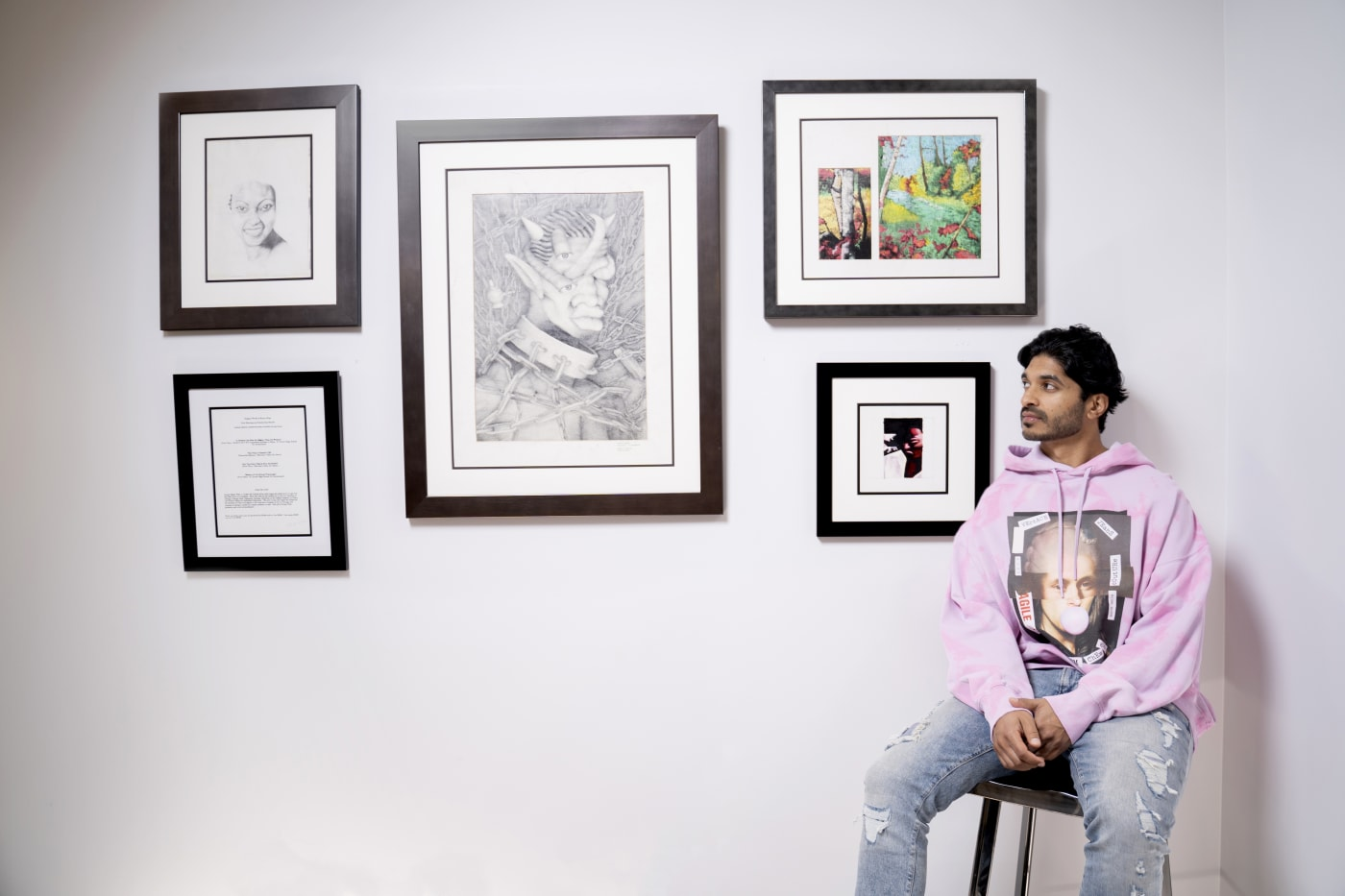 Vinoda Basnayake Kanye West Art Collector