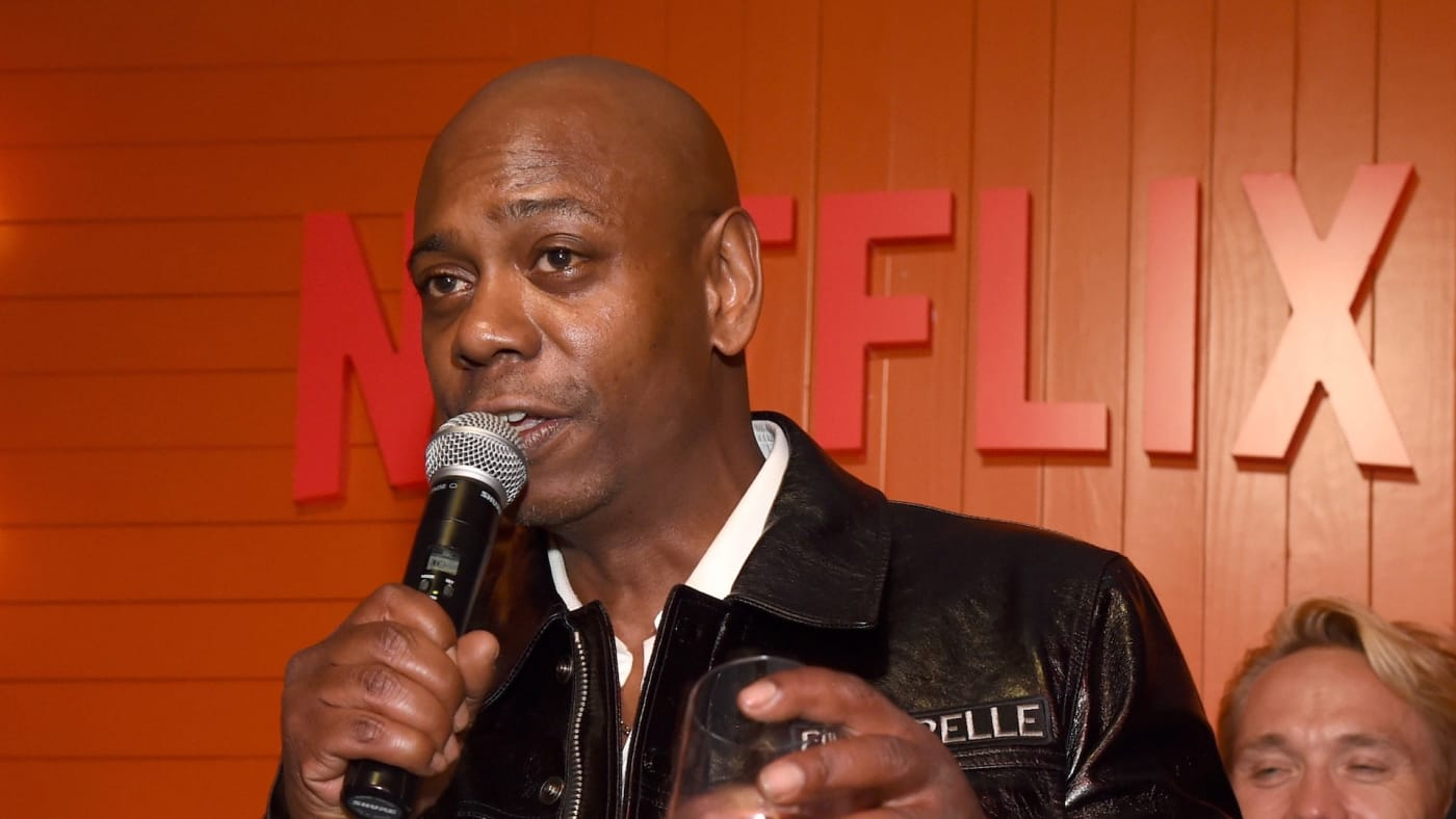 : Dave Chappelle attends the 2018 Netflix Primetime Emmys After Party at NeueHouse Hollywood.