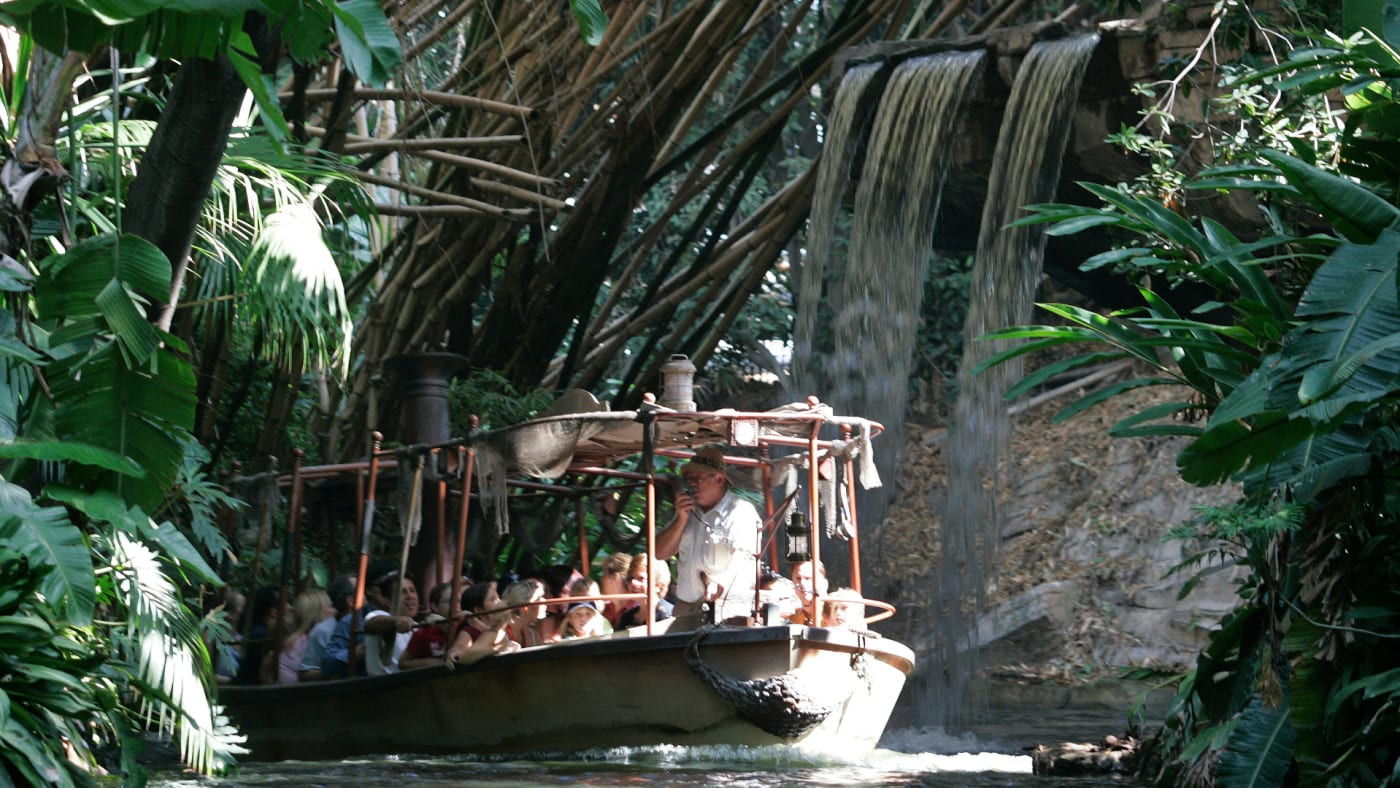 The guns are back on the Jungle Cruise.