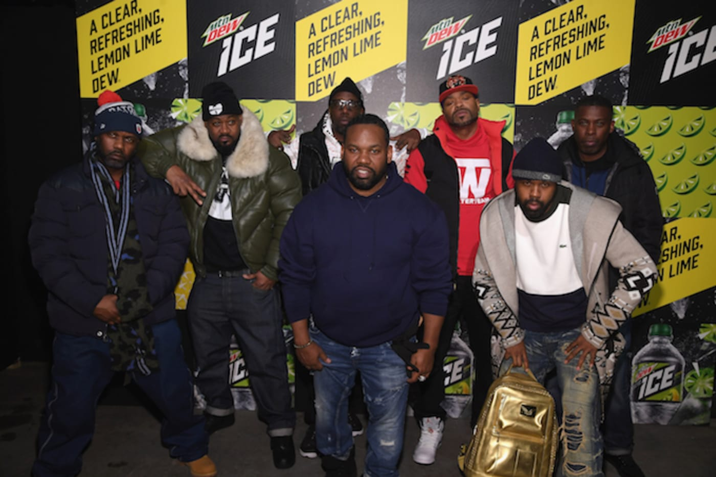 Wu Tang at the Mountain Dew Ice Launch