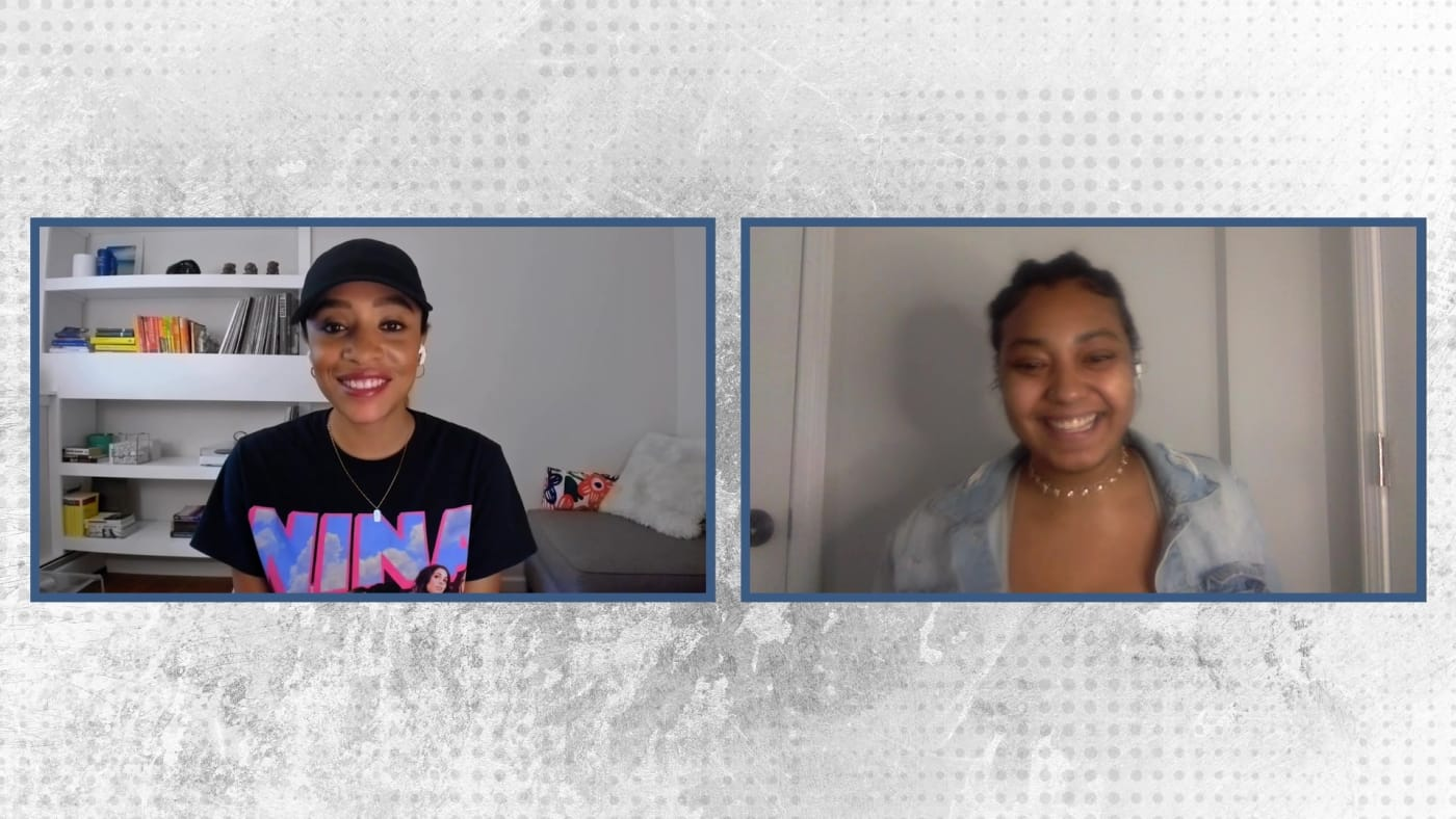 Nadeska and Shelby from Complex's Space Lift