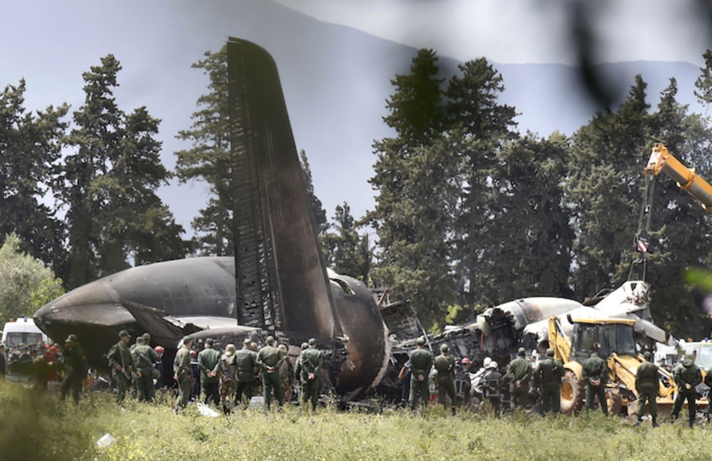 Algerian military plane crash.