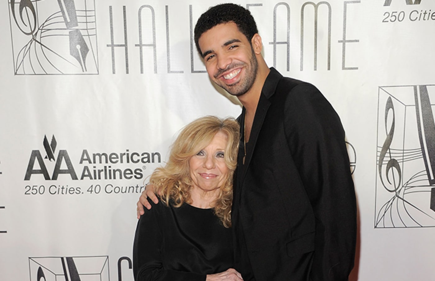 Drake and his Mom.