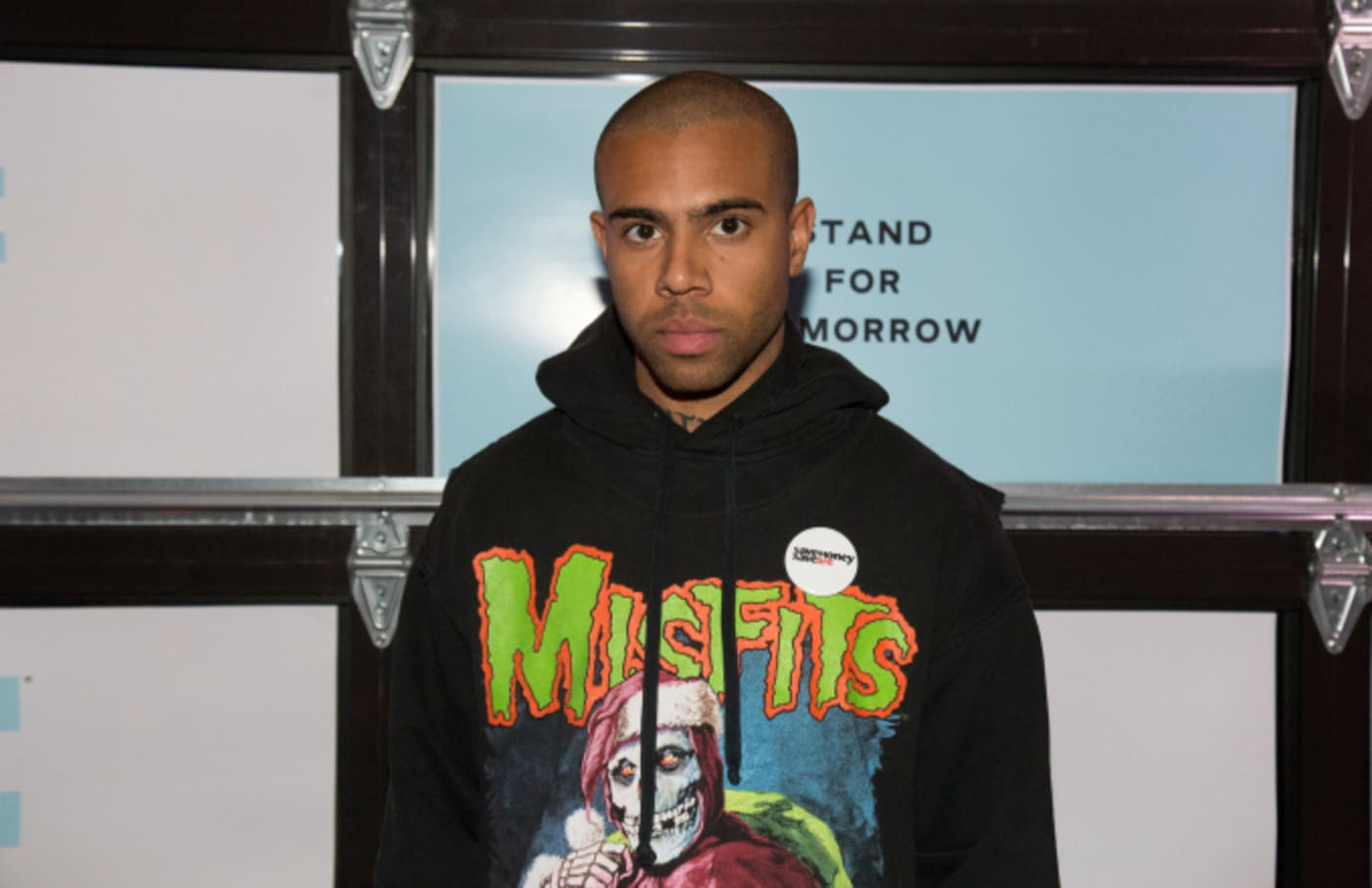 Vic Mensa attends End Gun Violence Together Rally