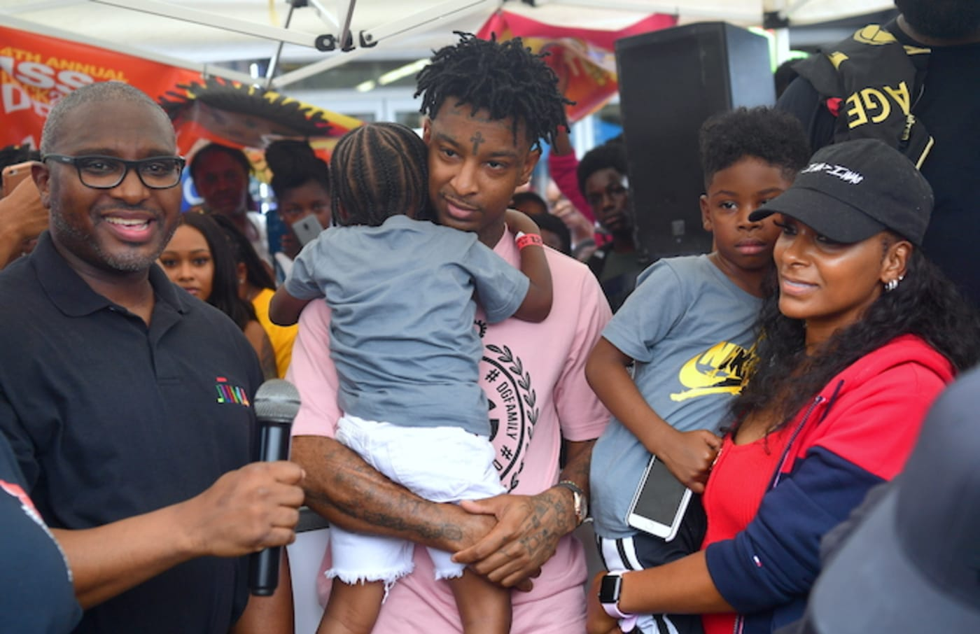 21 savage issa back 2 school drive 4th annual