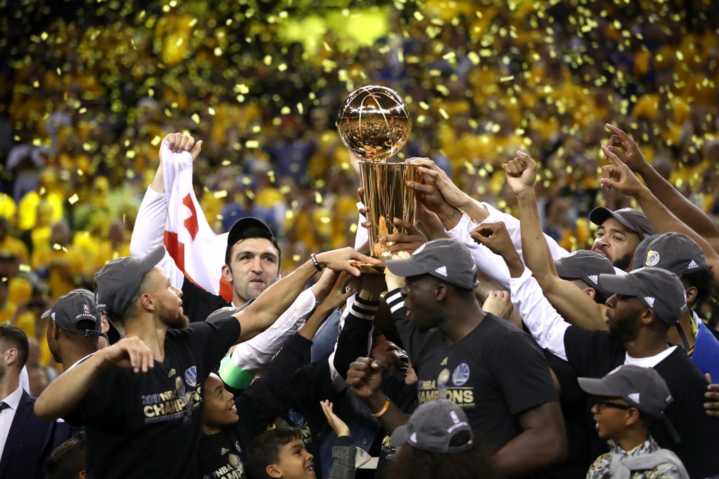 warriors trophy