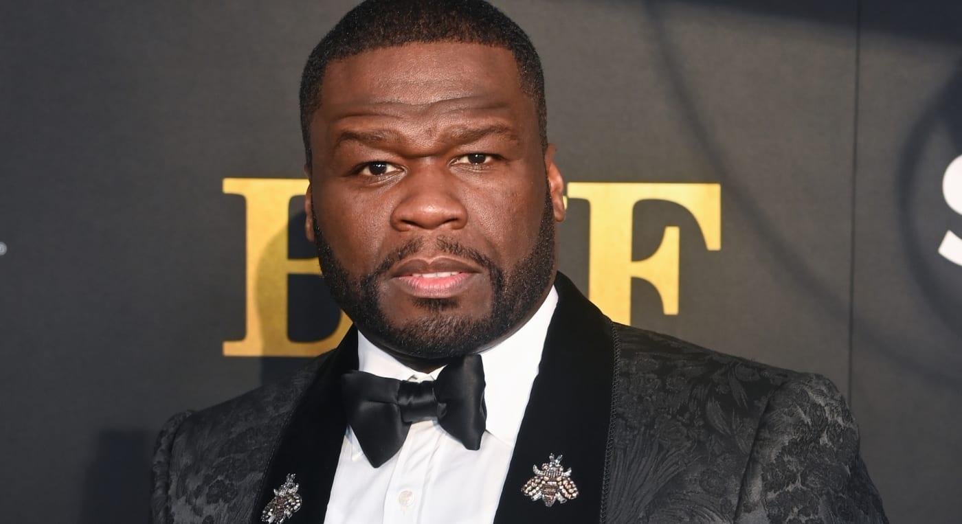 50 Cent red carpet