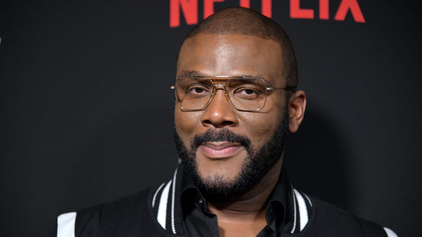 "Tyler Perry attends Tyler Perry's ""A Fall From Grace"" New York premiere."