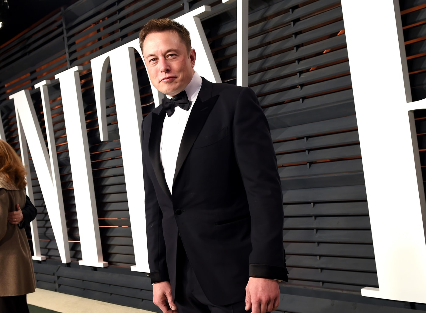 Elon Musk red carpet