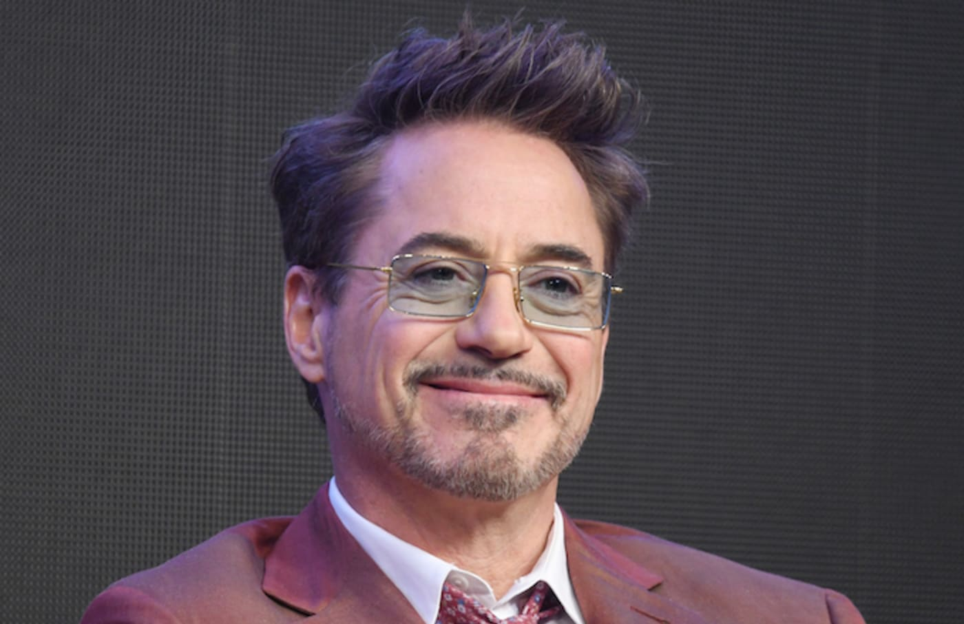 Robert Downey Jr. during a press conference for 'Avengers: End Game.'