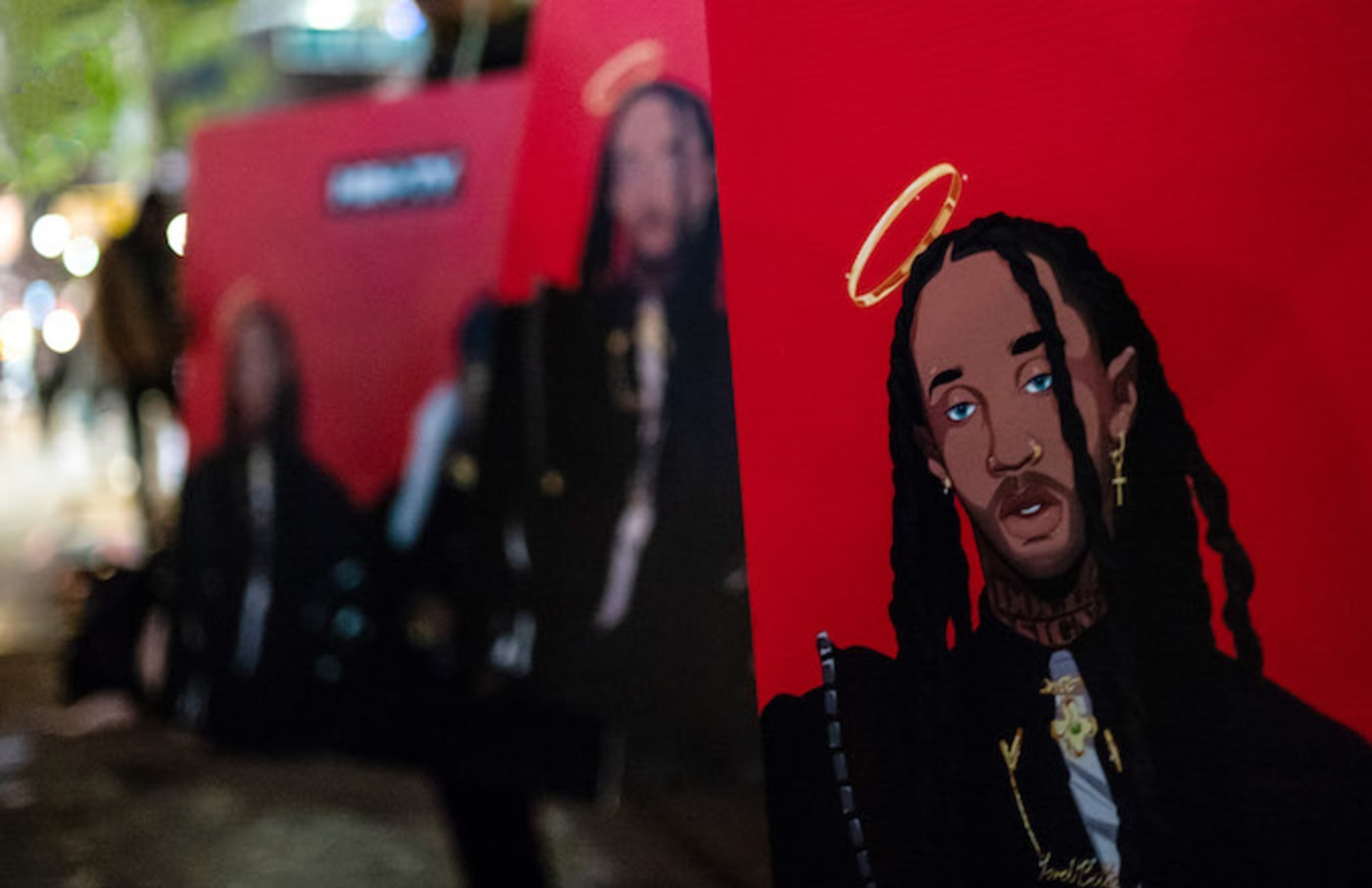 Atmosphere at Ty Dolla Sign and Jeremih's 'Mih Ty' Album Listening Party.