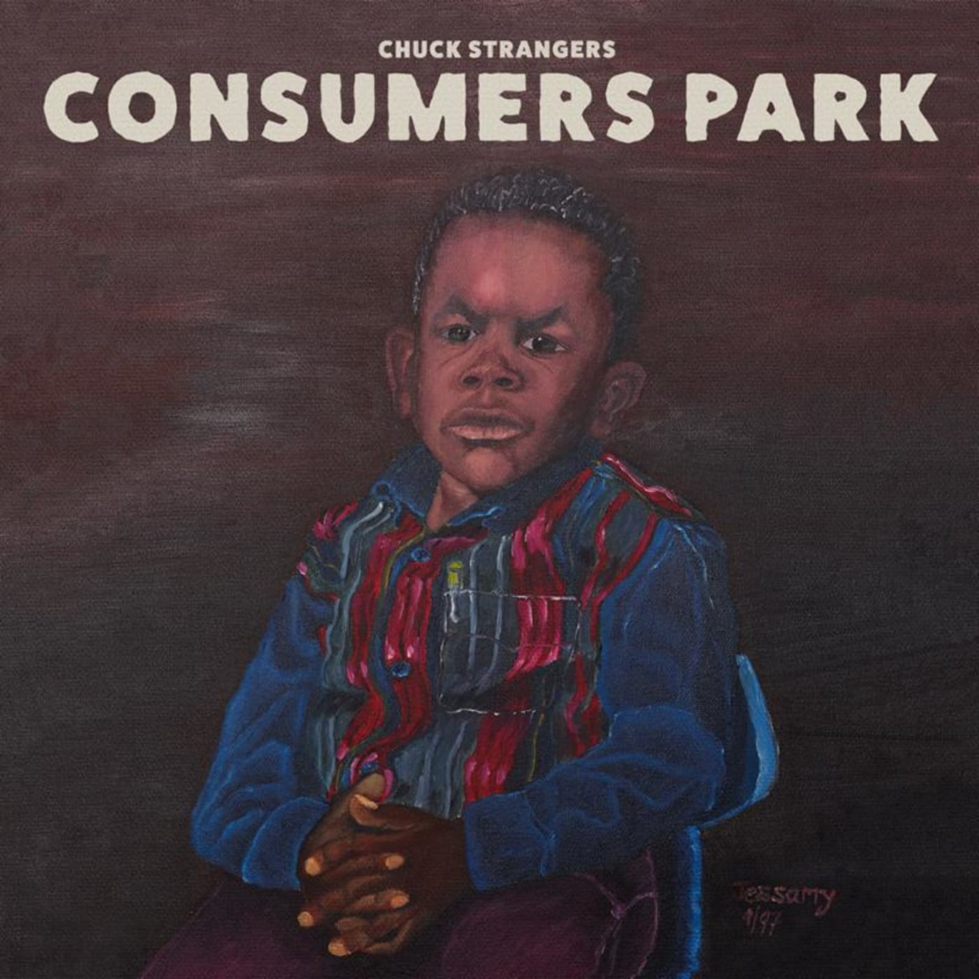 chuck strangers consumers park artwork