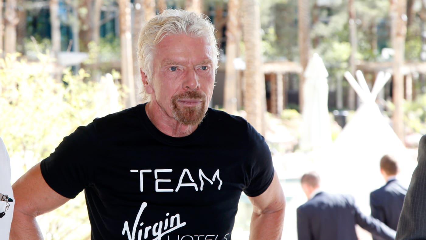 """Sir Richard Branson attends the """"Unstoppable Weekend"""" kick off event."""