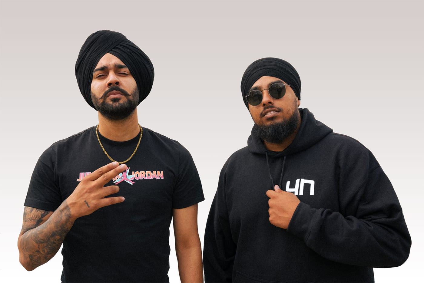 Canadian-Indian hip-hop artists Ikky and nSeeB