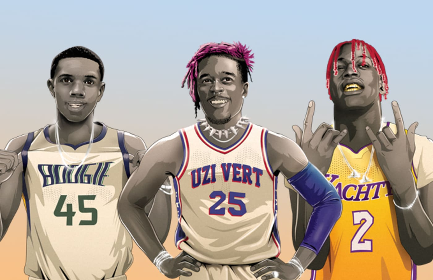 NBA Rookies Rapper Equivalents 2018 Complex Original