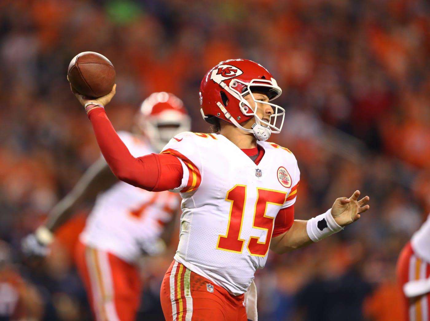 Patrick Mahomes Broncos Chiefs MNF 1 2018