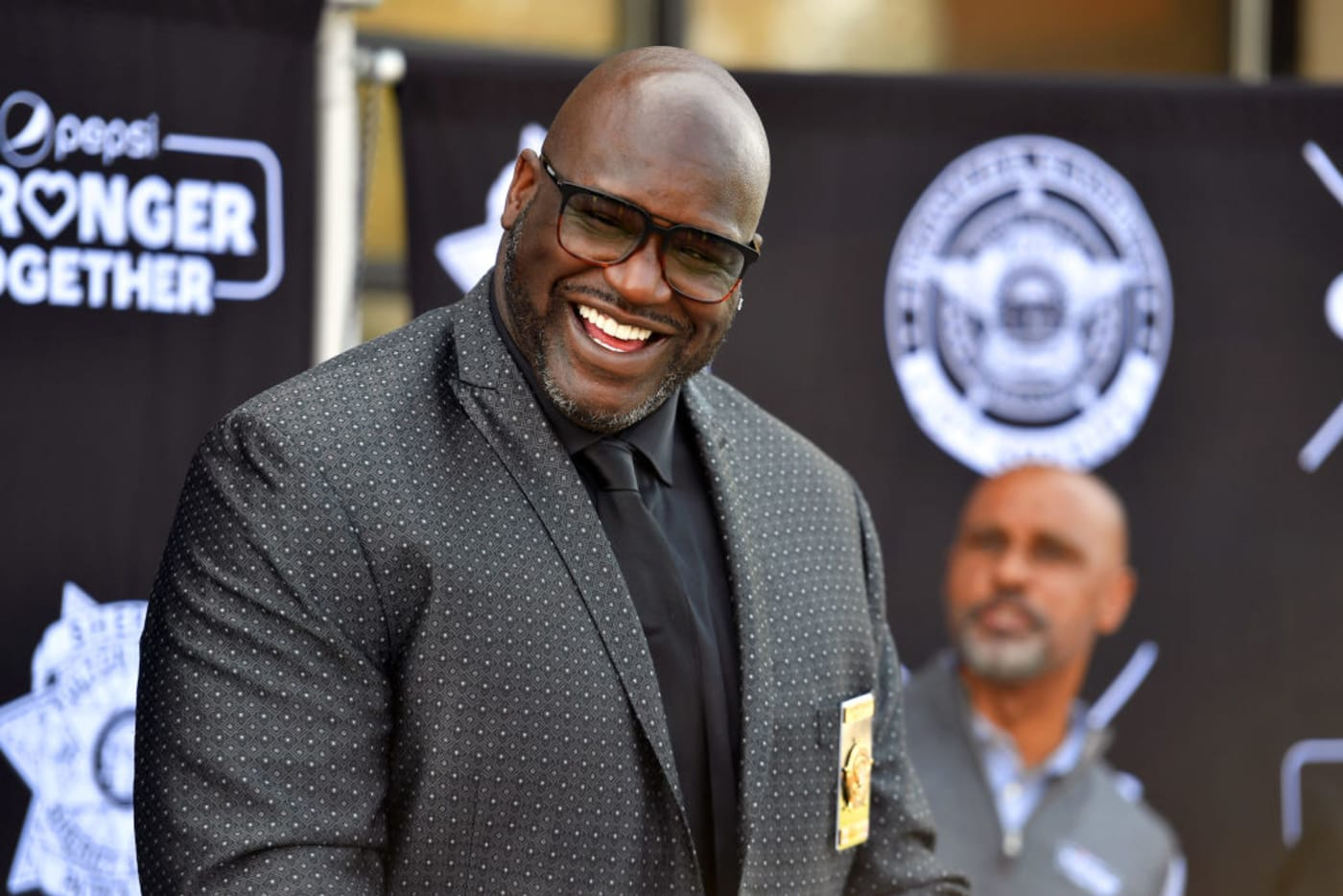 Shaquille O'Neal April 2021