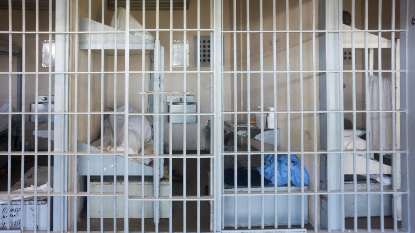 Prison cells inside Angola Prison The Louisiana State Penitentiary