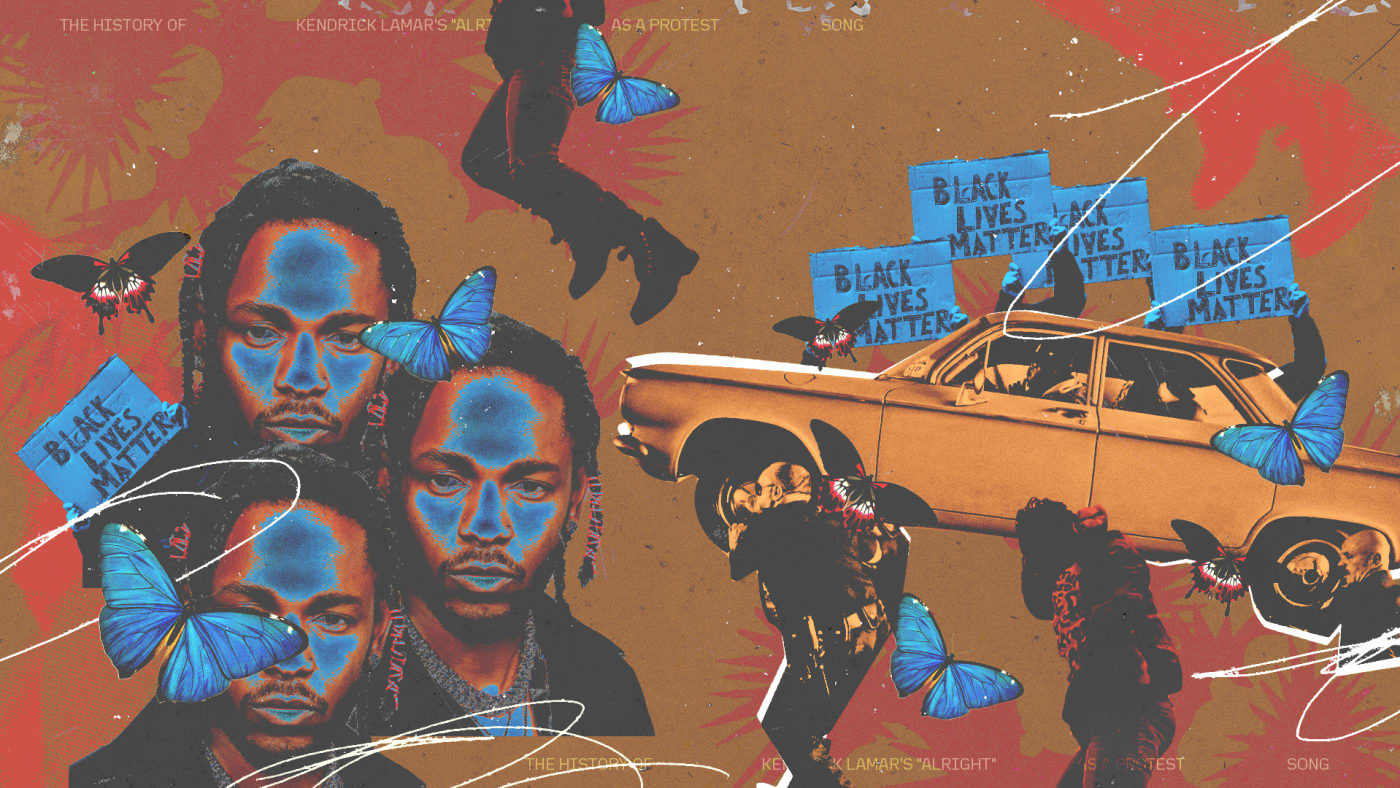"""The History of Kendrick Lamar's """"Alright"""" as a Protest Song"""