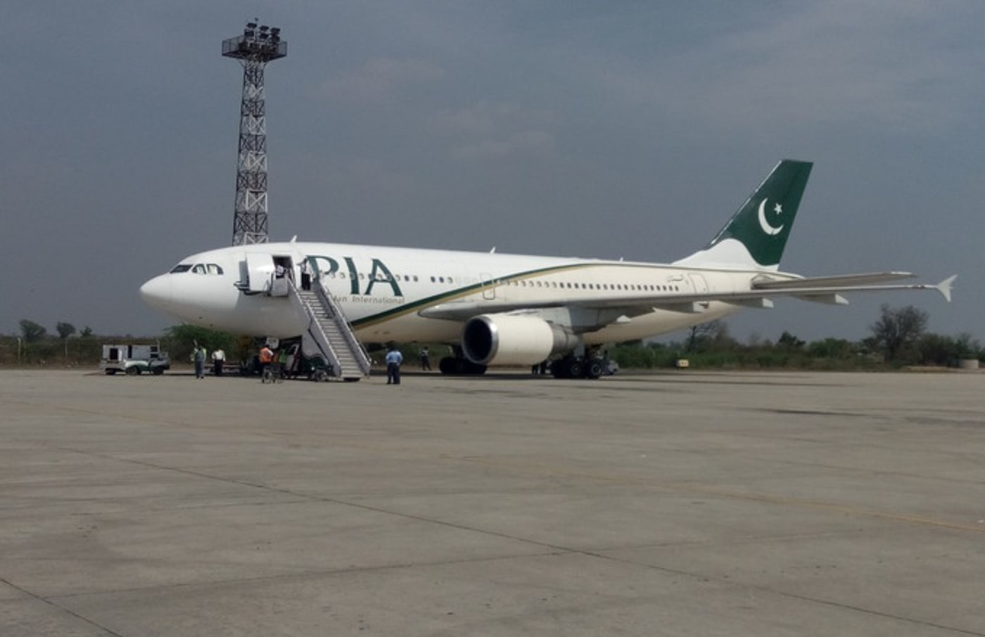 Pakistan International Flight