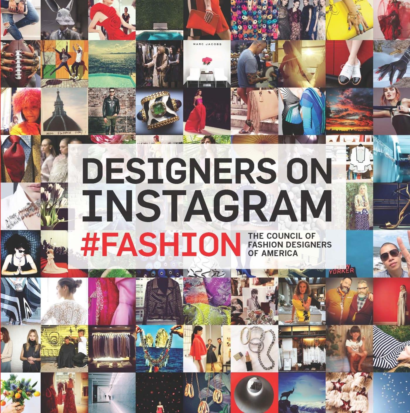 Designers On Instagram #Fashion Book
