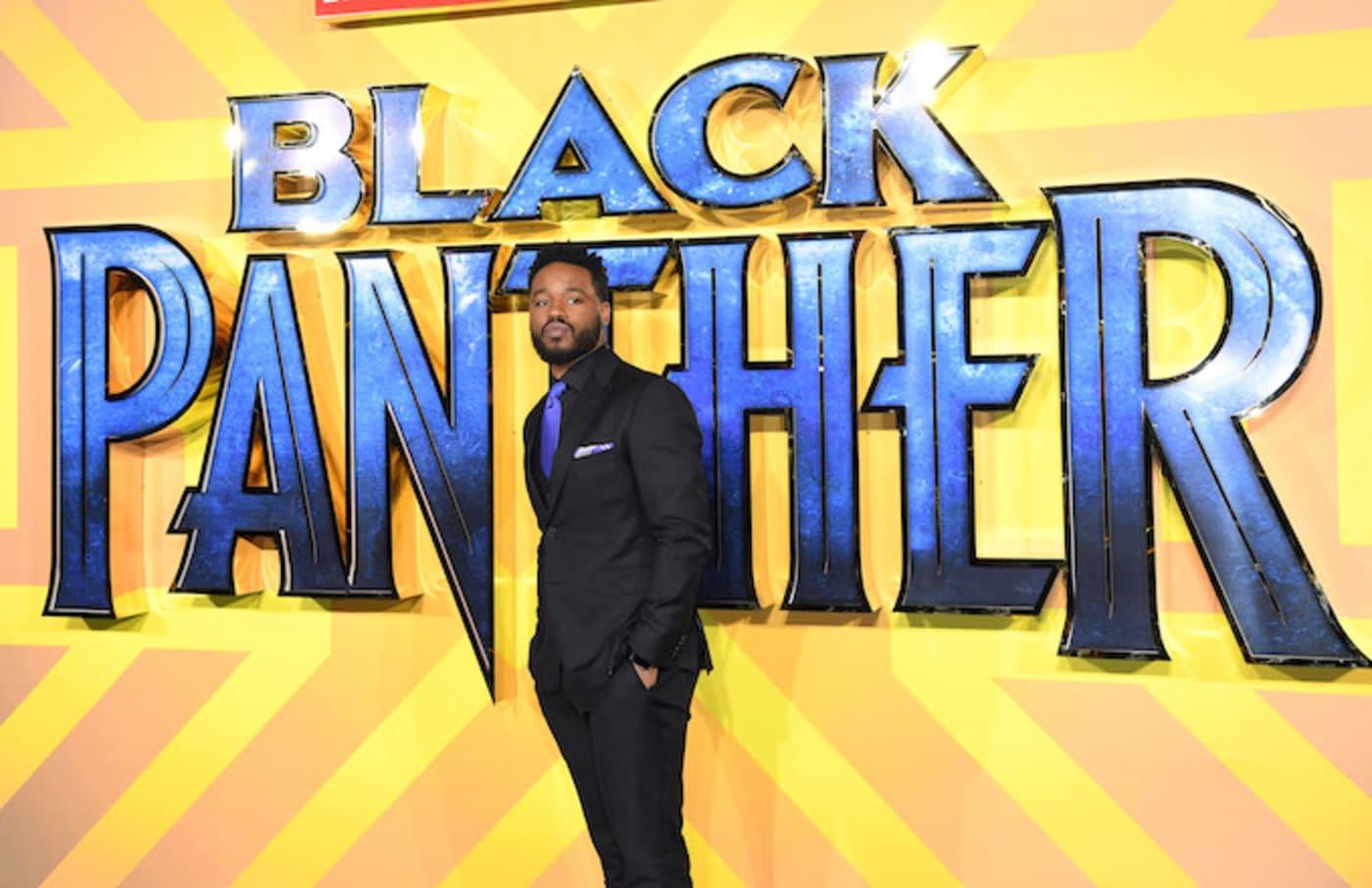 Ryan Coogler at a 'Black Panther' premiere.