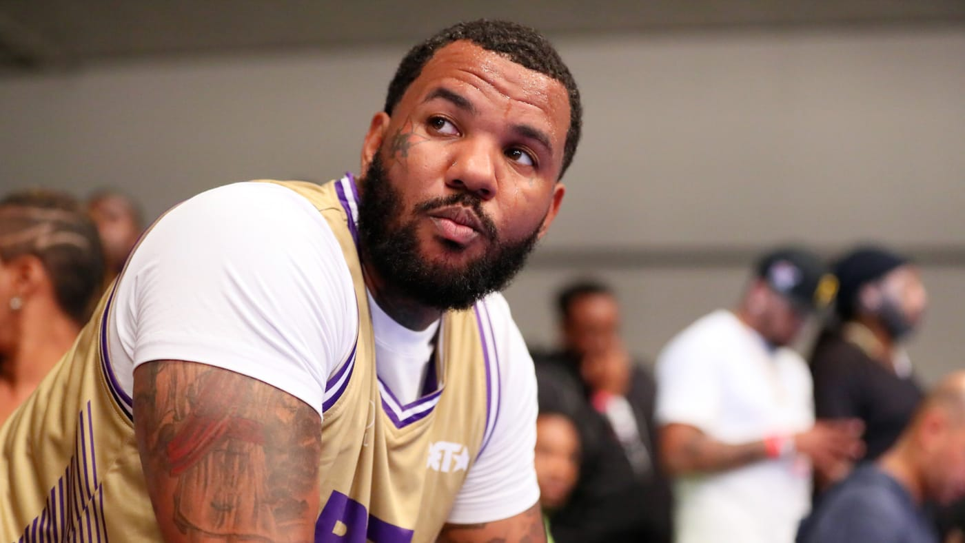 The Game plays in the BETX Celebrity Basketball Game