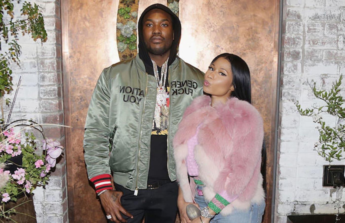 Meek Mill, Nicki Minaj social media