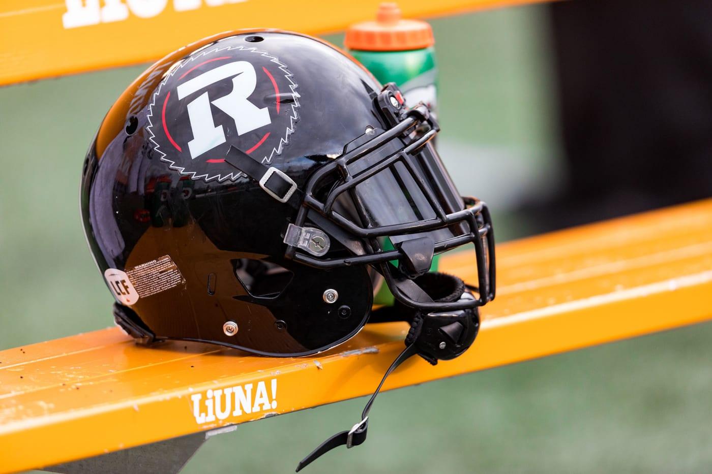 Ottawa Redblacks helmet