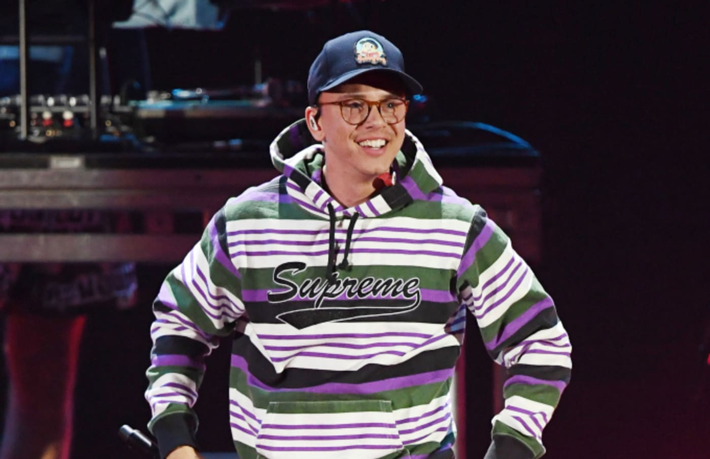 Logic performs during the 2018 iHeartRadio Music Festival