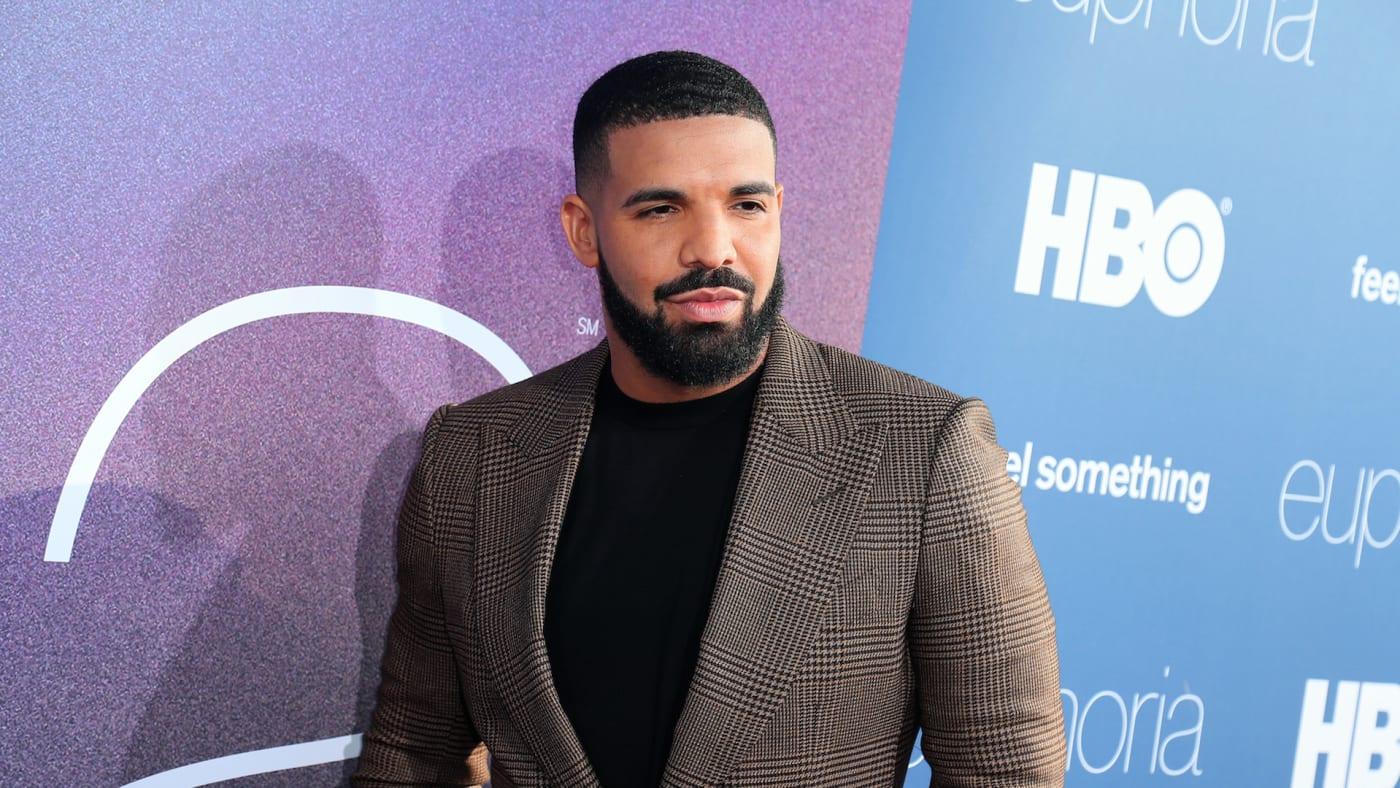 """Drake attends the LA Premiere of HBO's """"Euphoria"""" at The Cinerama Dome"""