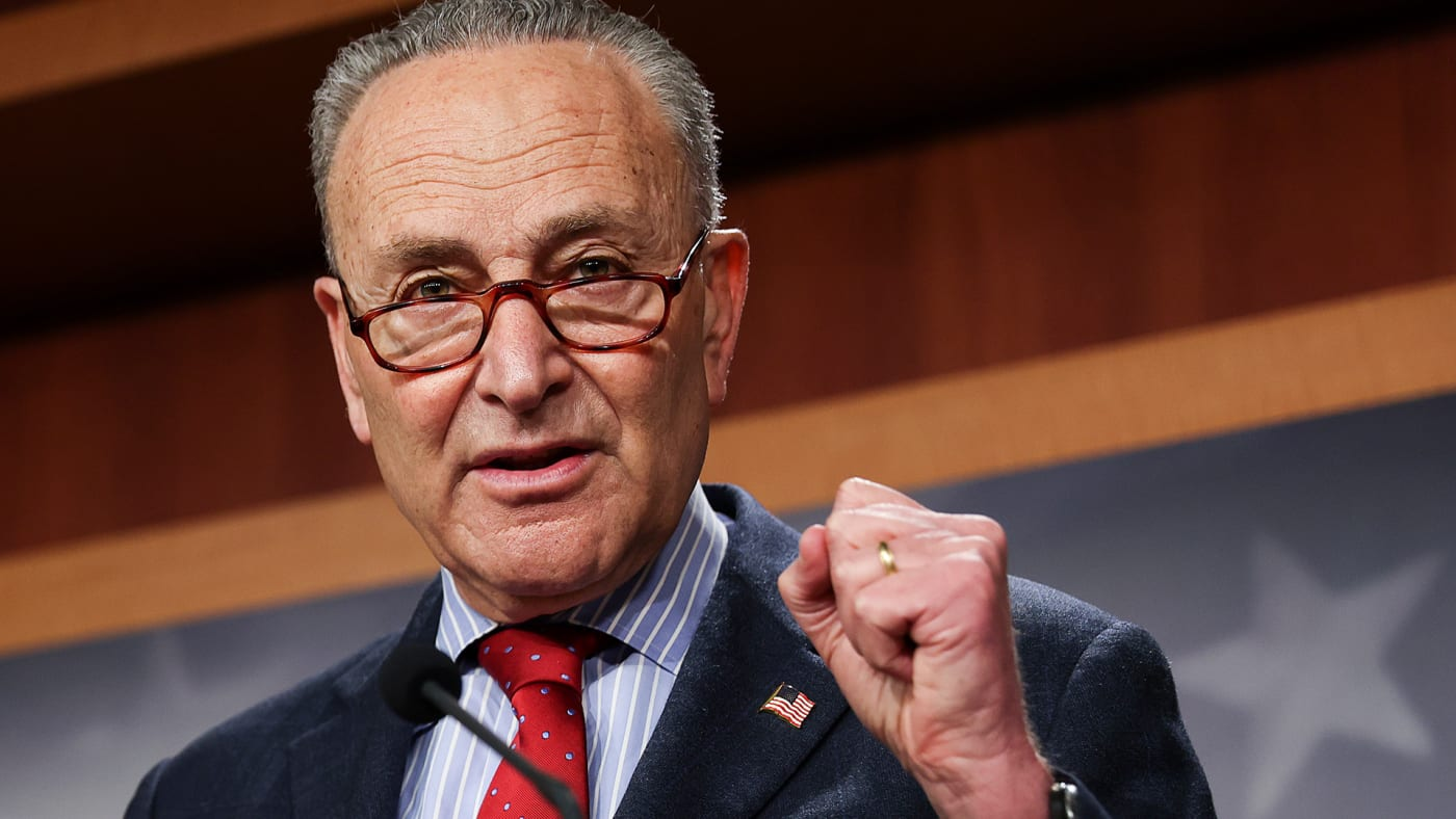 This is a photo of Chuck Schumer.