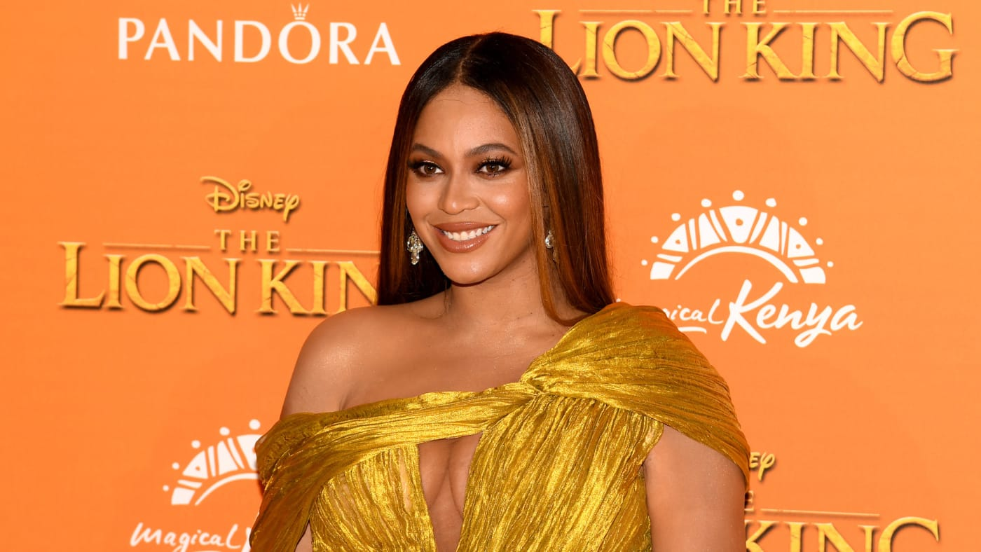 """Beyonce attends the European Premiere of Disney's """"The Lion King."""""""