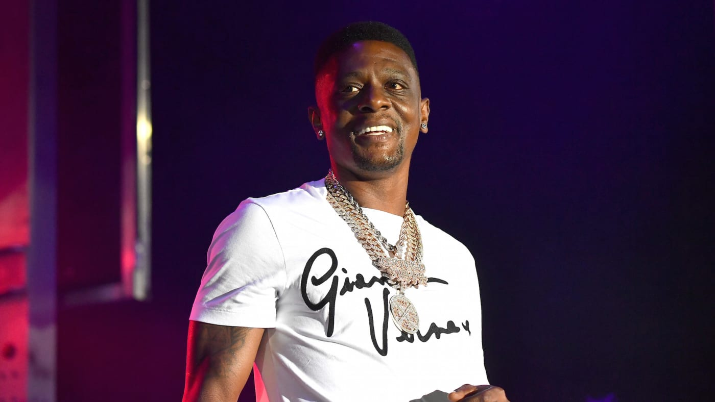 Boosie Badazz performs onstage during The Parking Lot Concert Series