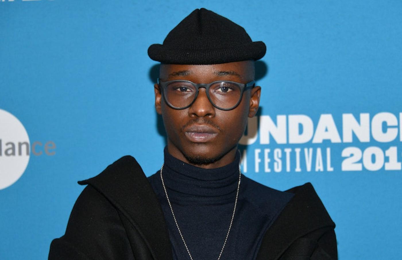 "Ashton Sanders attends the ""Native Son"" Premiere during the 2019 Sundance Film Festival."