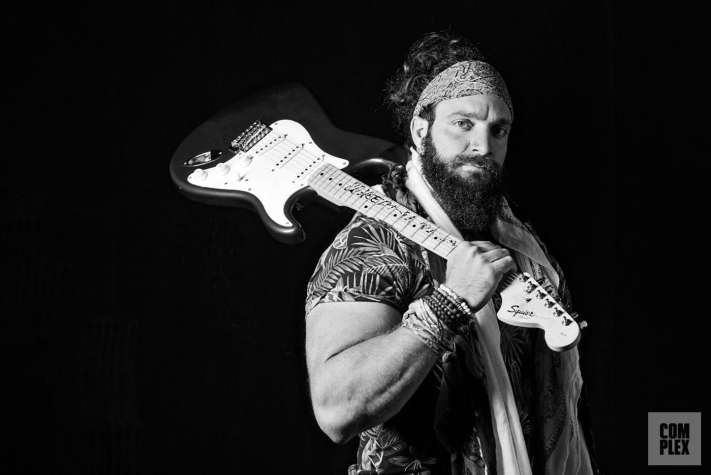 Elias WWE Superstar Guitar 2018 Complex Original