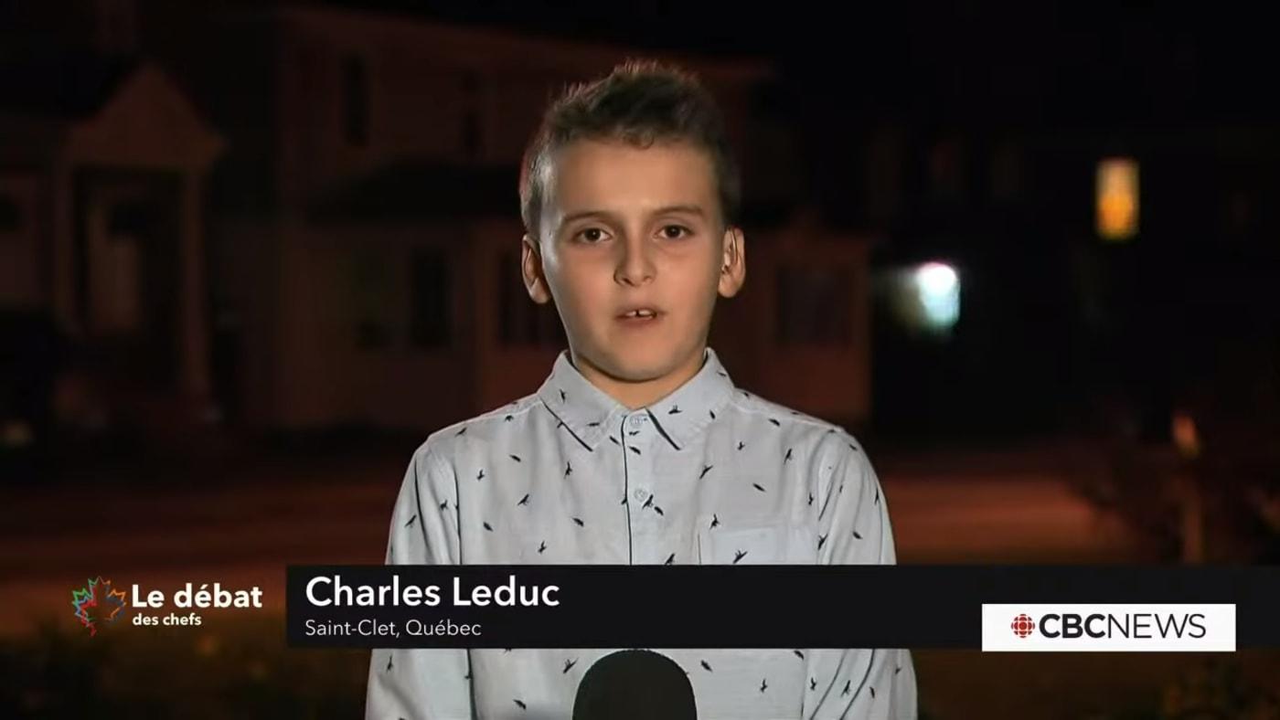 Canada French-language leaders' debate Charles