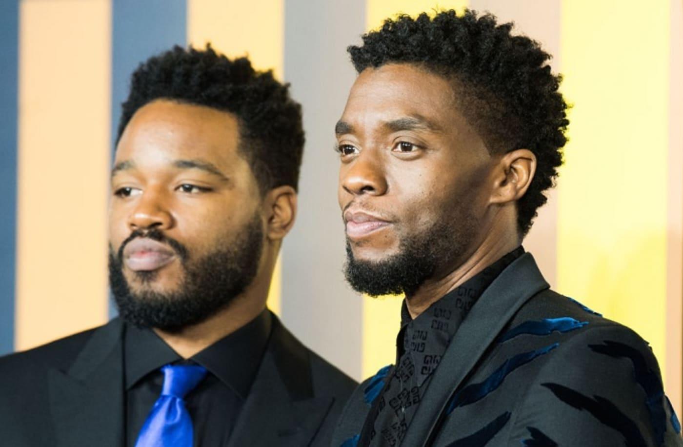Ryan Coogler and Chadwick Boseman of Black Panther