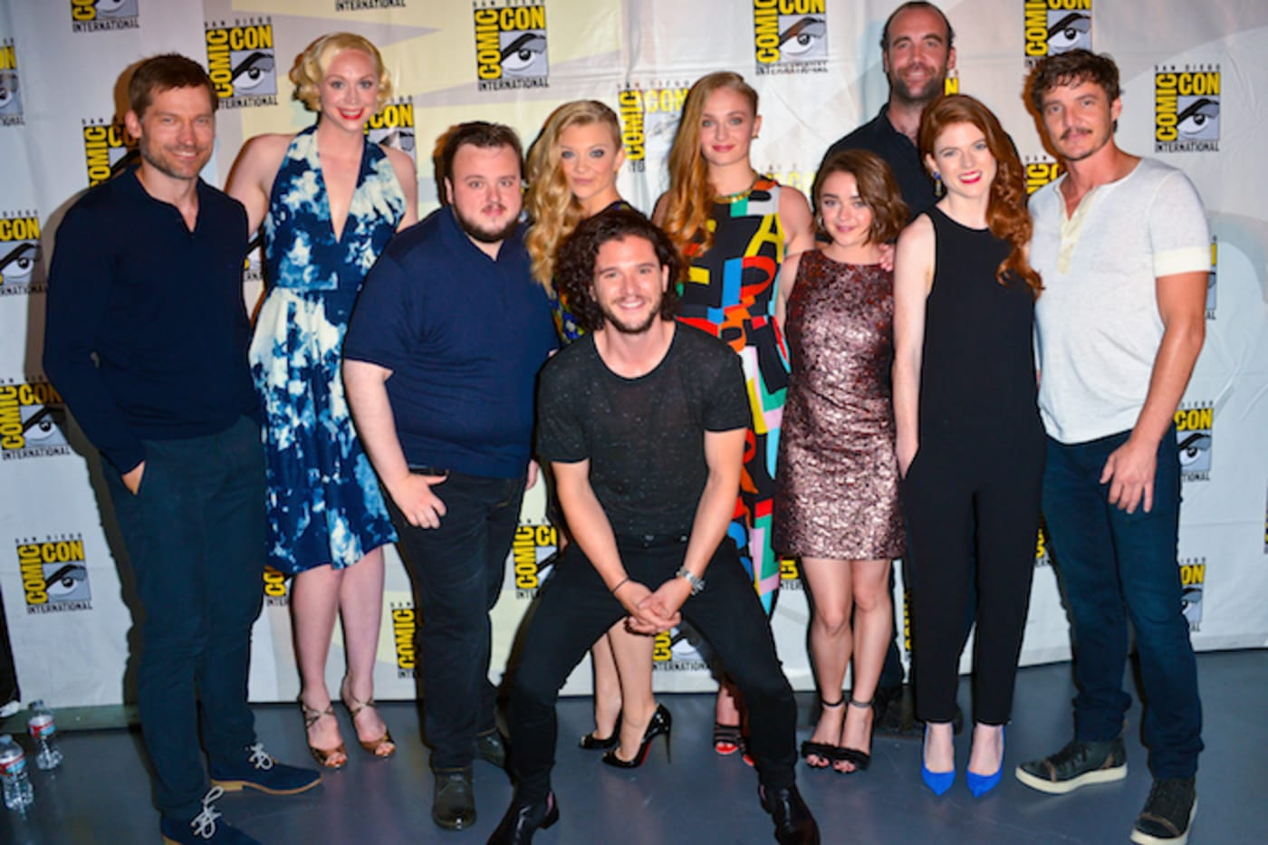 'Game of Thrones' cast in 2014.