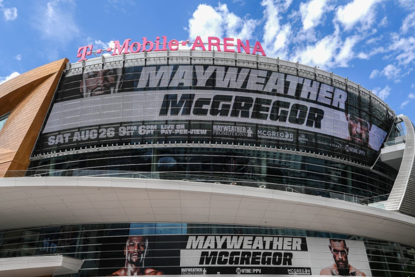 T Mobile Arena Sat Aug., 26 2017Getty