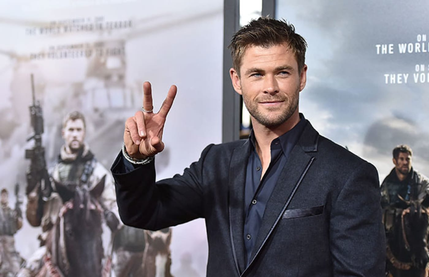 This is a photo of Chris Hemsworth.