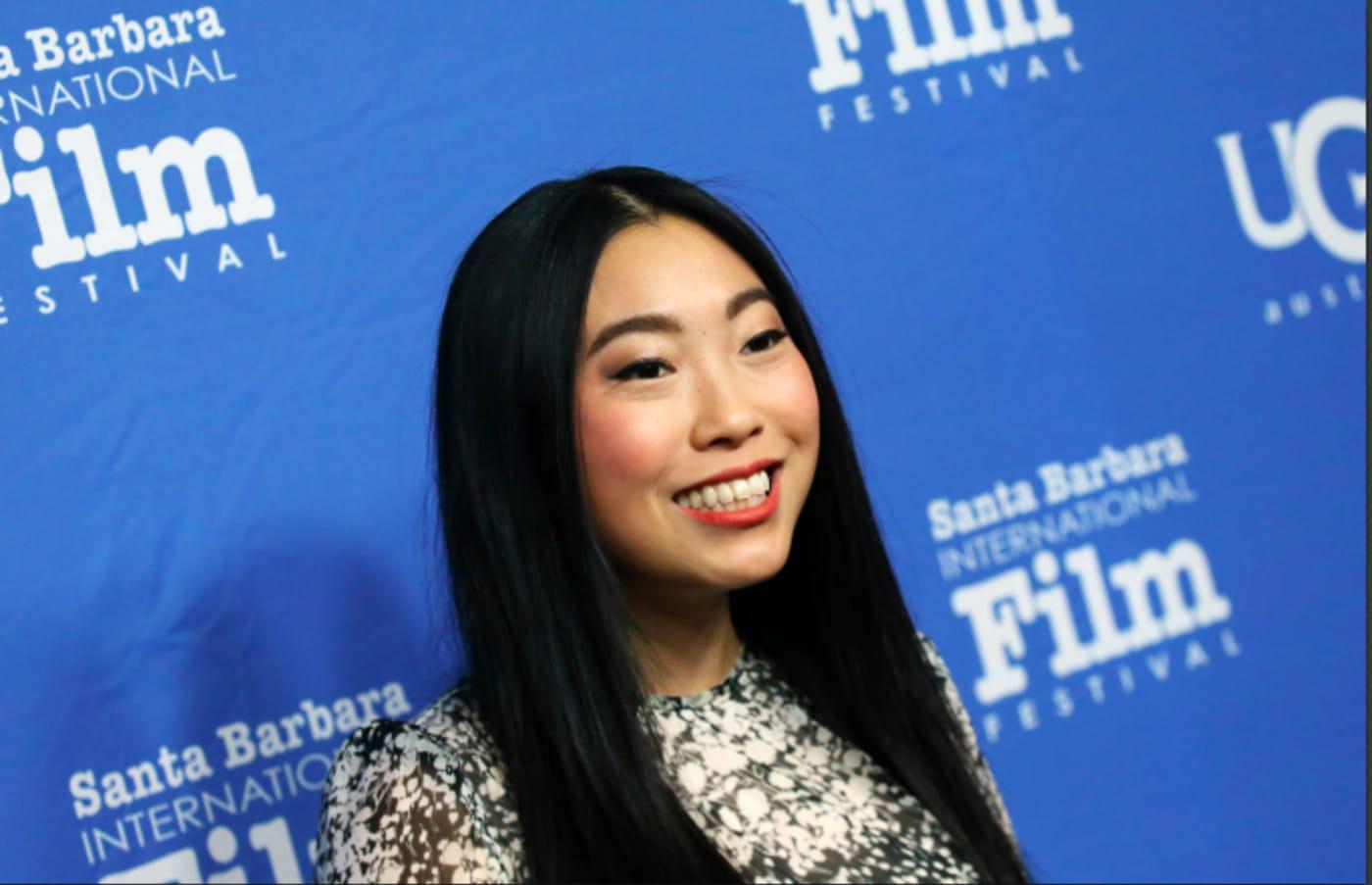 Awkwafina attends the 35th Annual Santa Barbara International Film Festival