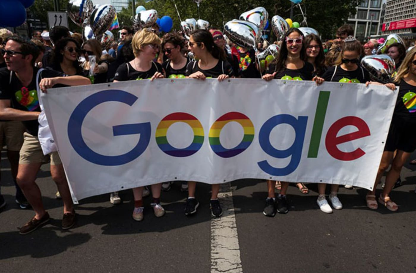 This is a photo of Google.